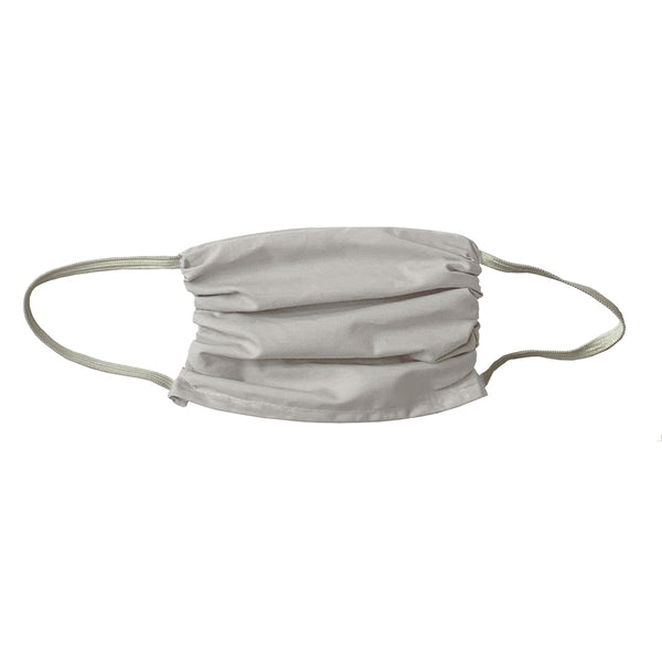 Colorful  Cotton Face Shield-X LARGE - Pearl Grey -3 Pack