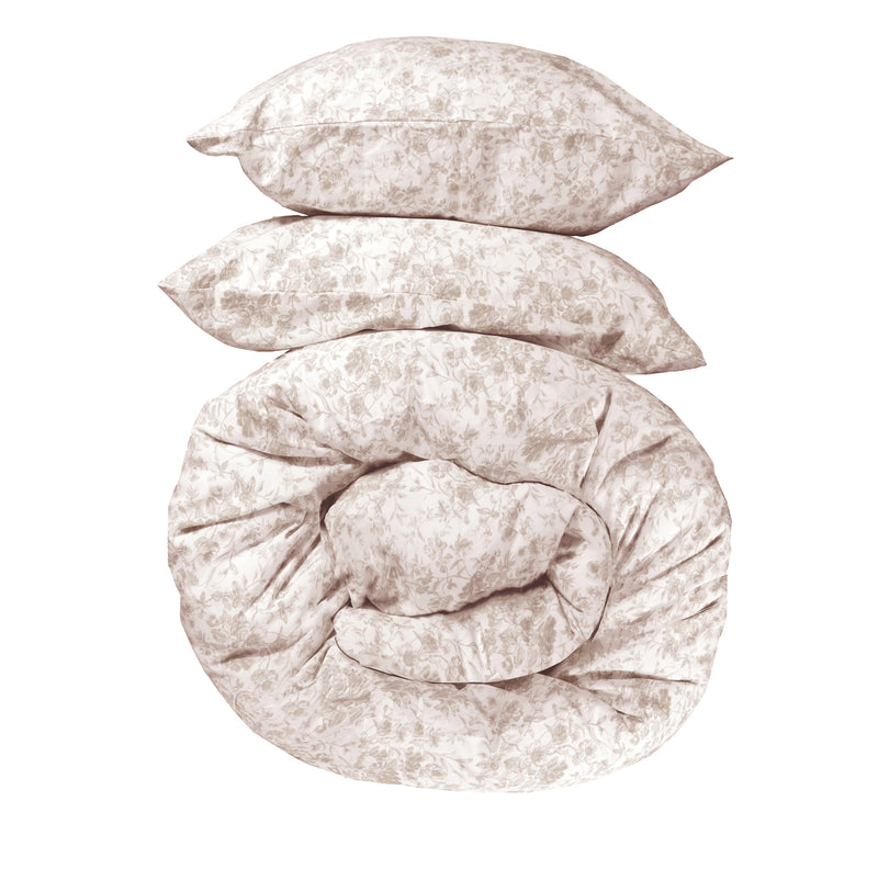 NEW! French Toile Bedding -Soft Wheat