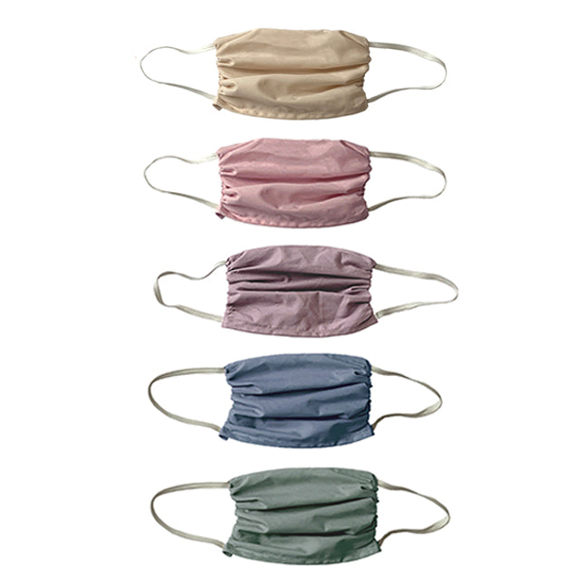 NEW! Trio 3 layer Mask Set- Sunset Colors 3 Ply Mask Set- 5 Pack Sunset Colors