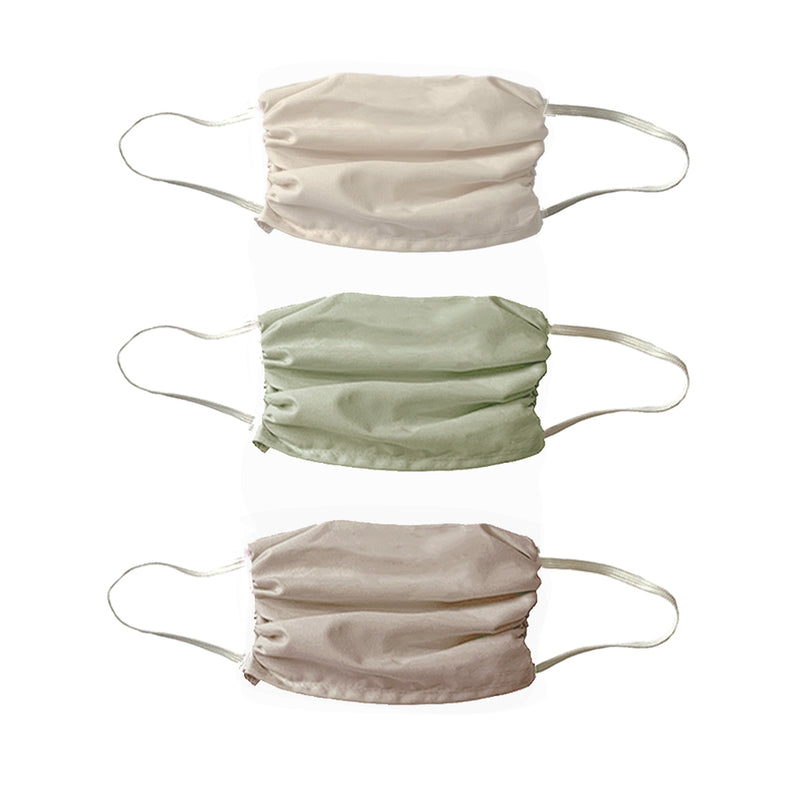 NEW! Soft Naturals  colors- Masks- 3 Pack