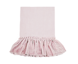 Washed Velvet Ruffle Collection - Rose Blush