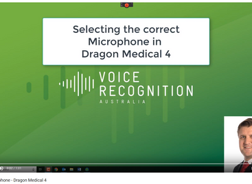 dragon medical microphone problem