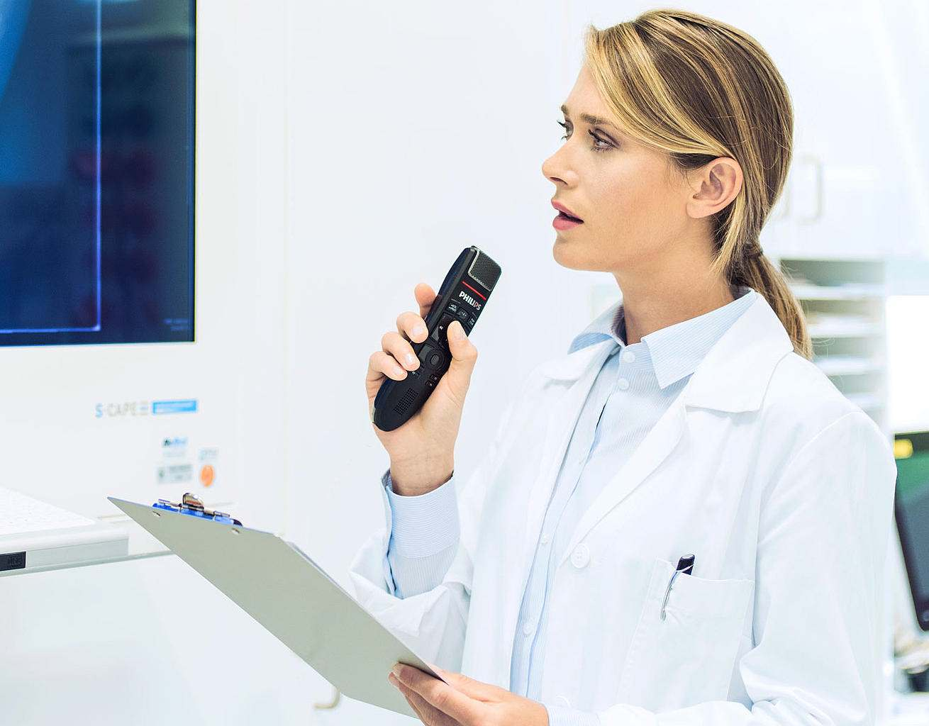 speech recognition for doctors