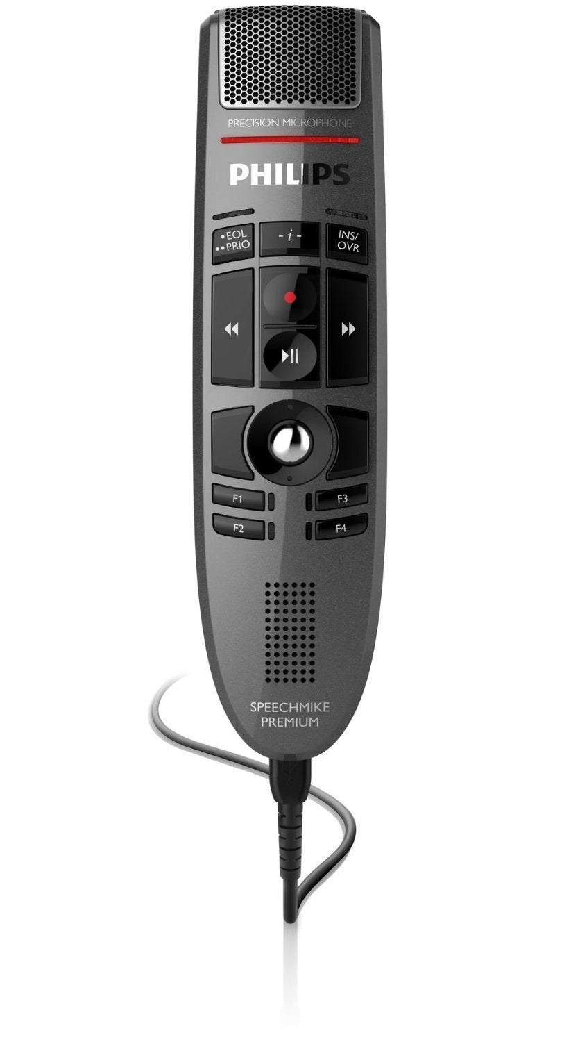 LFH3500 SpeechMike Premium USB dictation microphone