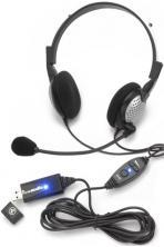 2 X Andrea Nc185Vm Usb Headsets Dragon Microphone