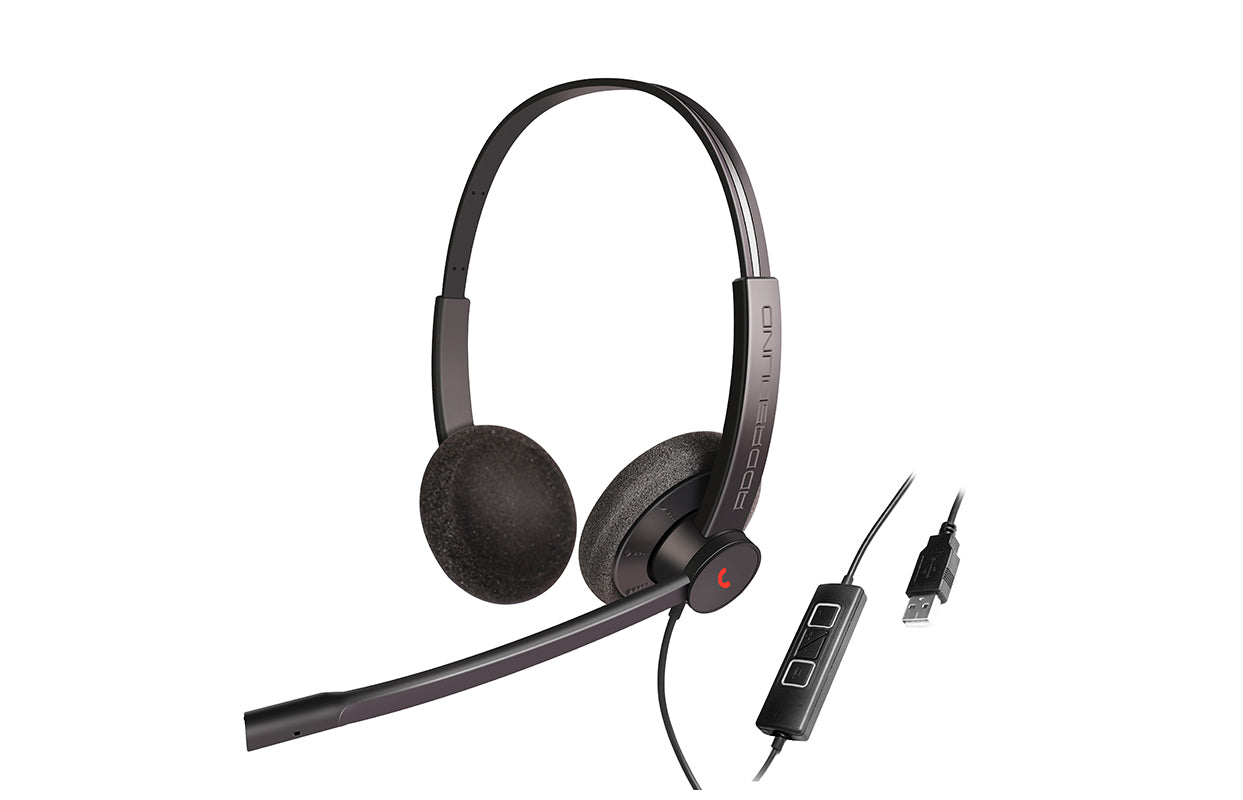 EPIC 302 ADDASOUND USB Headset Microphone (Black)
