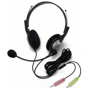 Andrea Electronics Nc185 Stereo Headset (Analogue) Dragon Microphone
