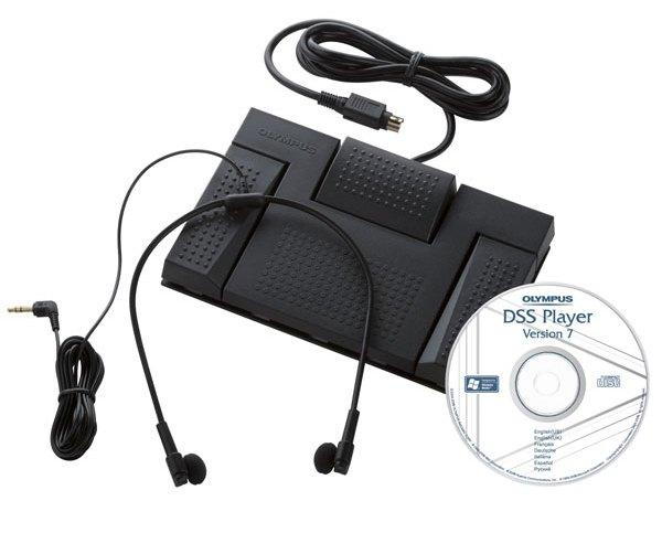 Olympus RS-27 USB Foot Pedal with Transcription Software