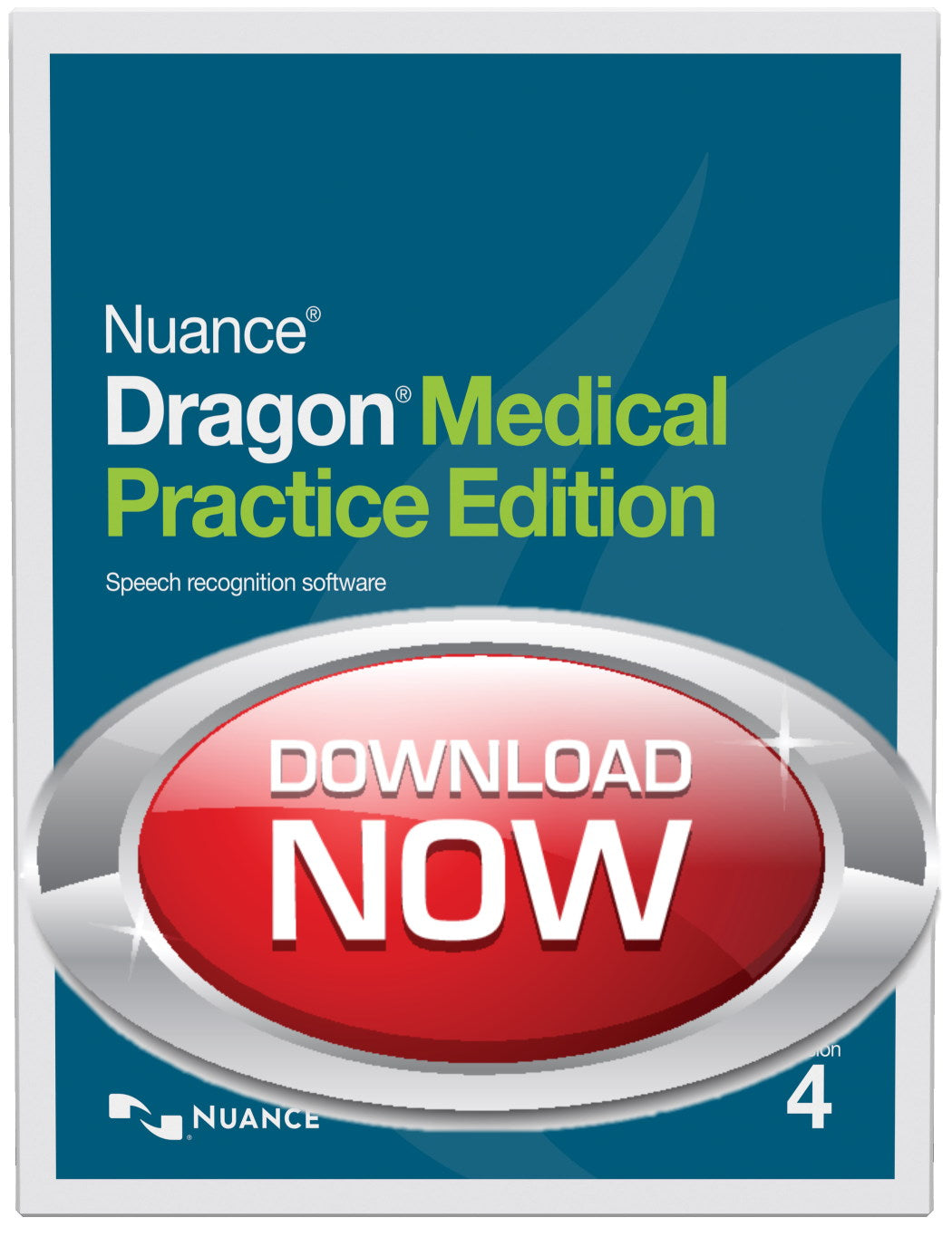Instant Sale - Save $300 -Dragon Medical Practice Edition 4.2