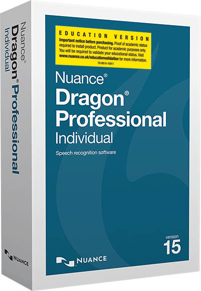 Dragon Professional 15  Academic Educational Student