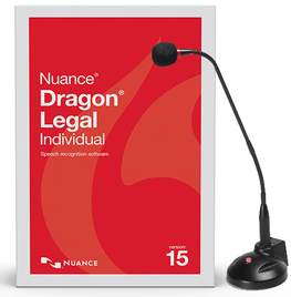 Dragon Legal 15 - Desktop Mic & Training Package Eofy Sale Naturally Speaking Software