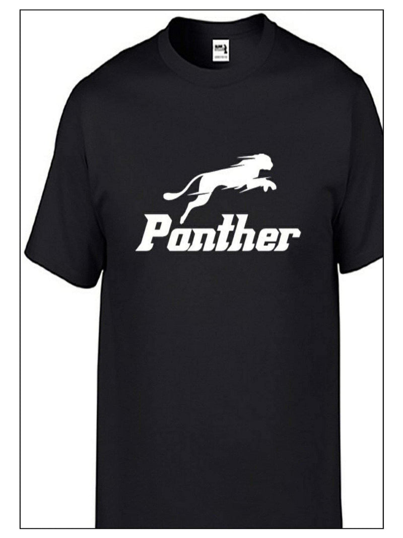 "Panther Unisex Tshirt Lets Go Wild - Panther ""R"""