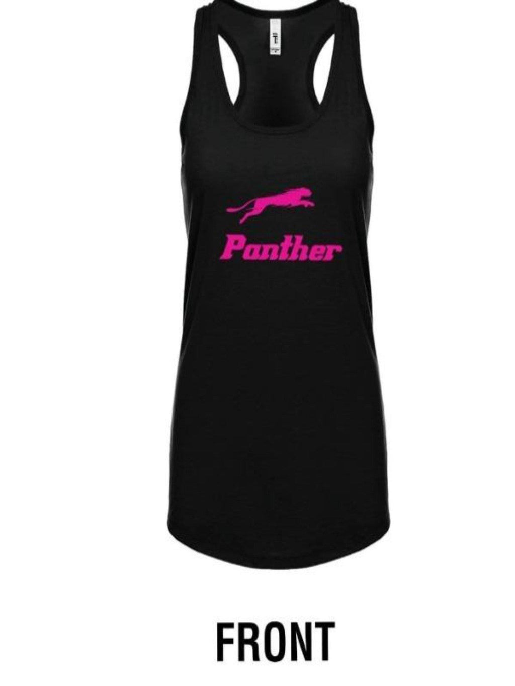 "Panther Women Tank Top Let's Go Wild - Panther ""R"""