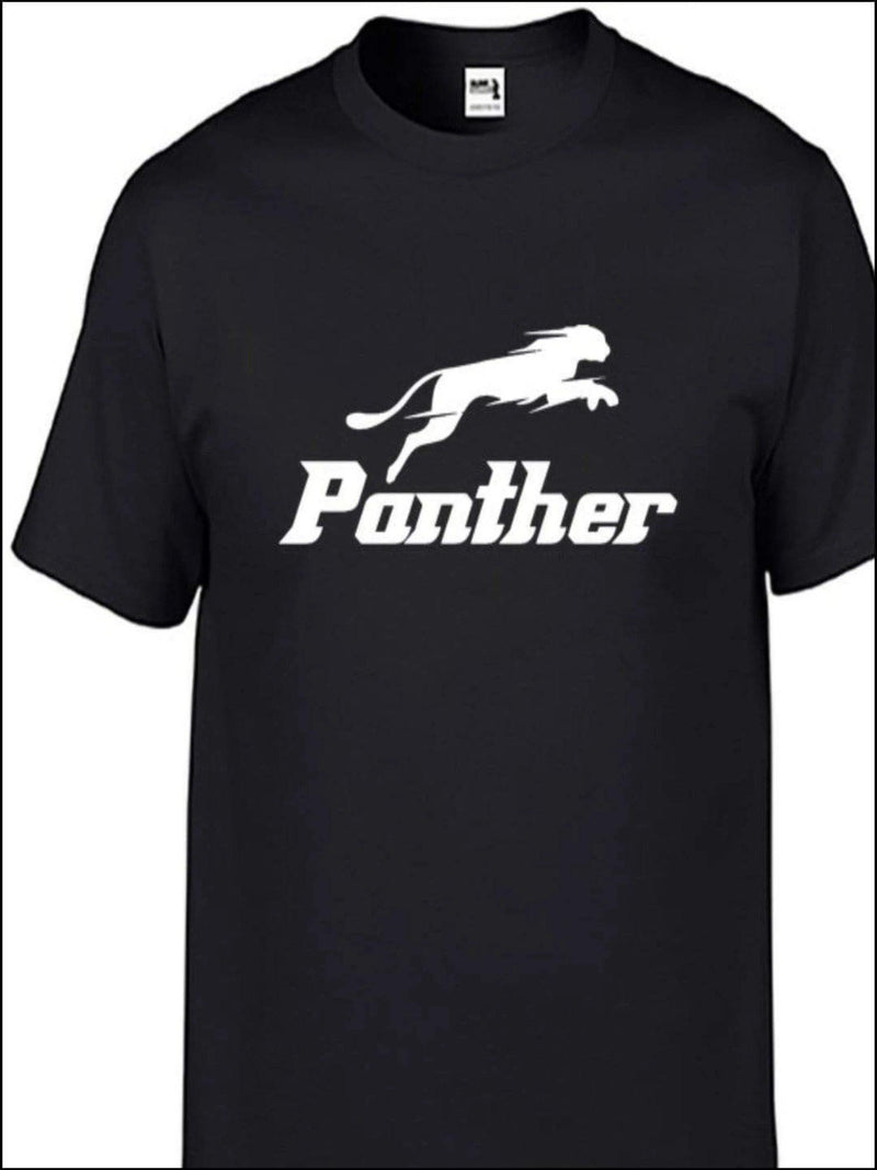 Panther Short Sleeves T-shirt - Panther