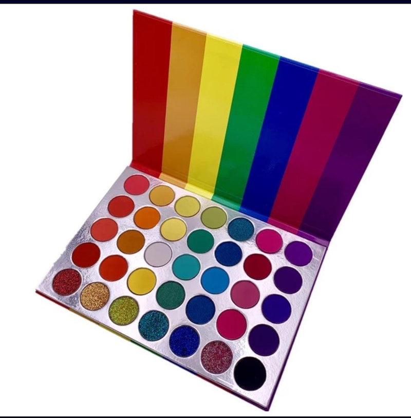 Eyeshadow Pallet 35 Fabulous Colors - Panther