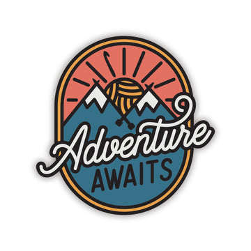 Adventure Awaits Vinyl Sticker Set
