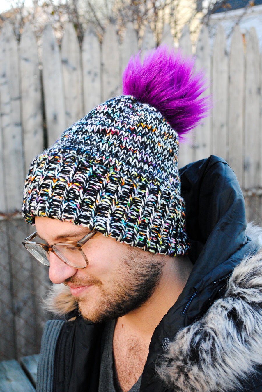 Be Bold Beanie - E Pattern Only