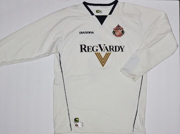 c846511f5 2004-2005 Sunderland Away Long Sleeve Jersey