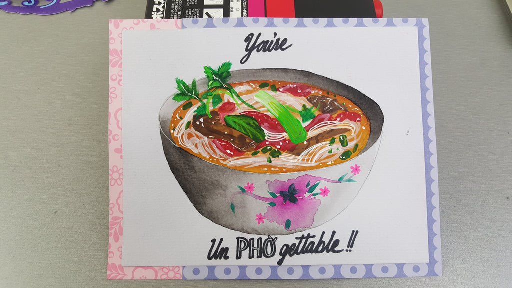 DIY Pho Valentine's Day Card
