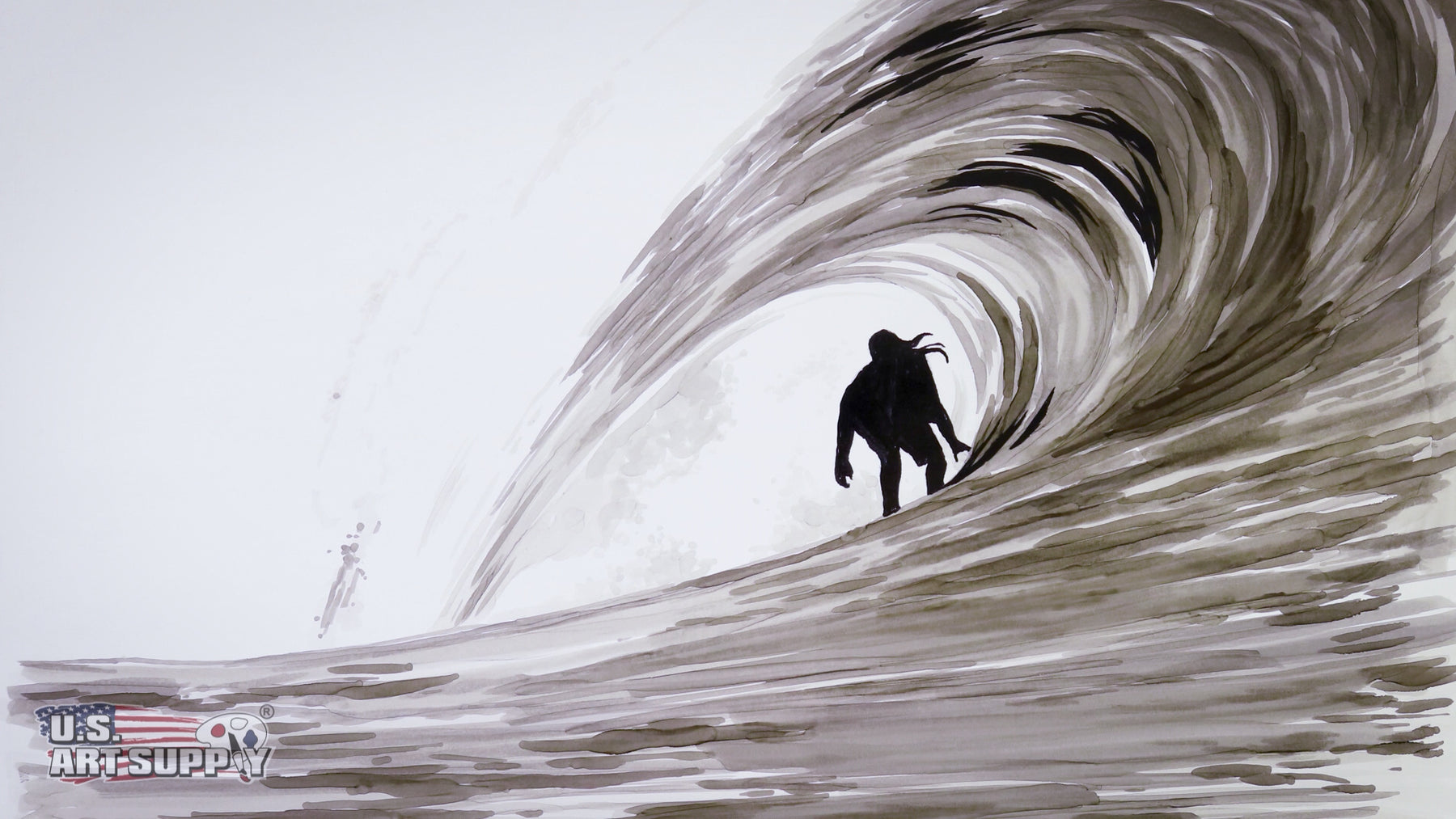 How-to-Draw Waves Using Markers