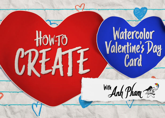 Creating Valentine Art Cards