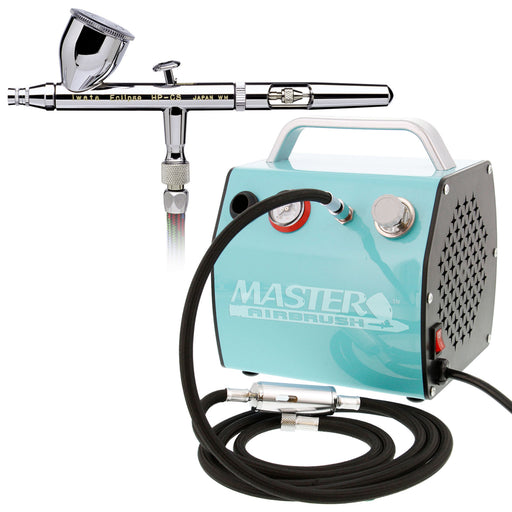 Eclipse HP-CS 4207 Airbrush Kit with Master Compressor TC-60 & Air Hose