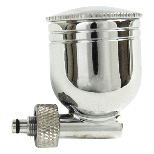 7cc Metal Side Bowl Gravity Cup with Lid that Threads onto Side-Feed Airbrushes