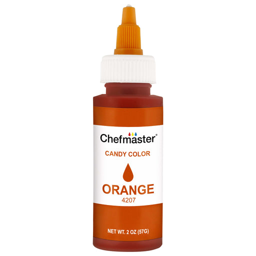 Orange Liquid Candy Color, 2 oz.