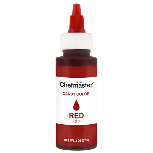 Red, Liquid Candy Color, 2 oz.