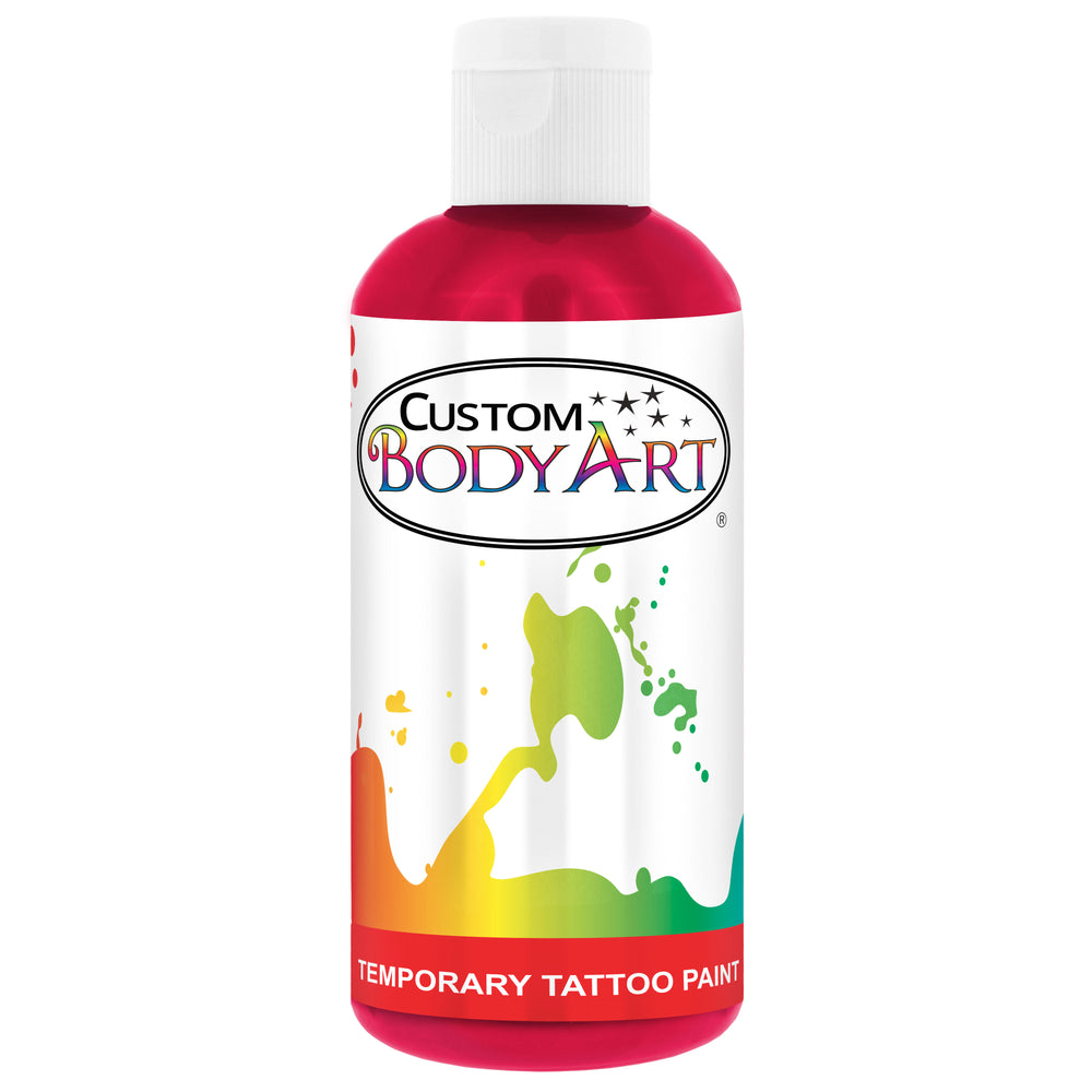 Pink Airbrush Temporary Tattoo Body Paint Makeup, 8 oz.