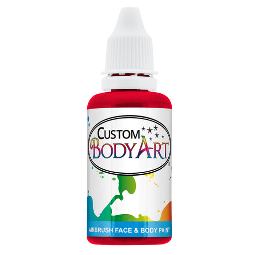 Red Airbrush Face & Body Water Based Paint for Kids, 1 oz.