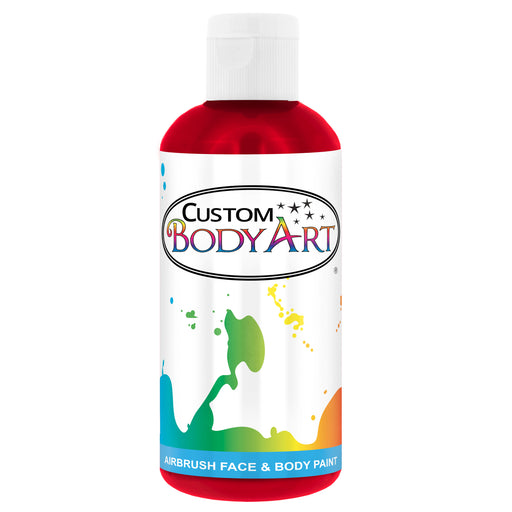 Red Airbrush Face & Body Water Based Paint for Kids, 8 oz.