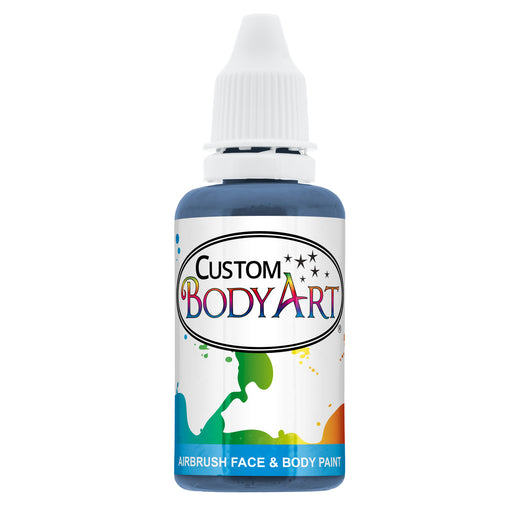 Blue Airbrush Face & Body Water Based Paint for Kids, 1 oz.
