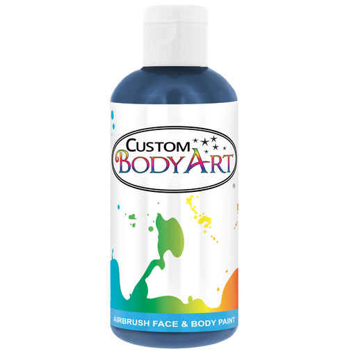 Blue Airbrush Face & Body Water Based Paint for Kids, 8 oz.