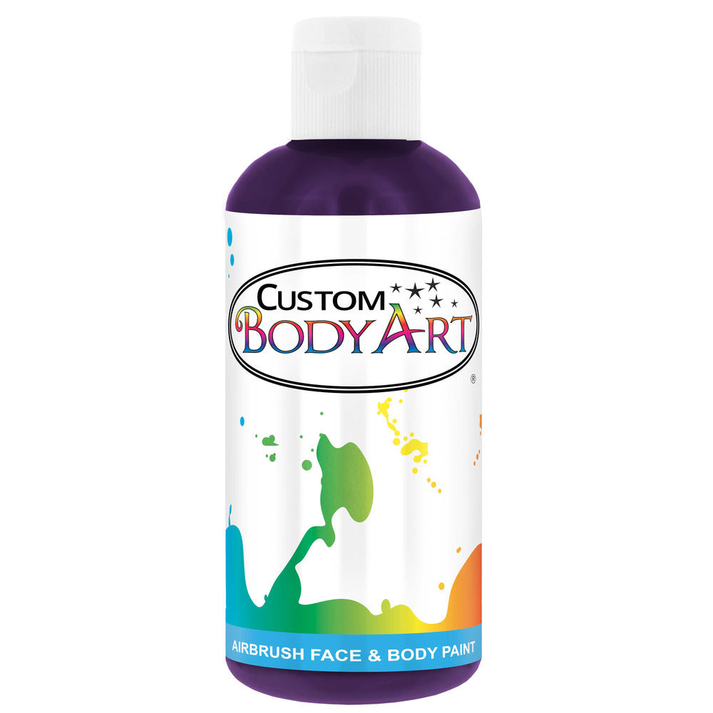 Purple Airbrush Face & Body Water Based Paint for Kids, 8 oz.