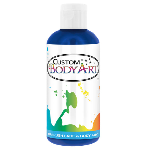 Royal Blue Airbrush Face & Body Water Based Paint for Kids, 8 oz.