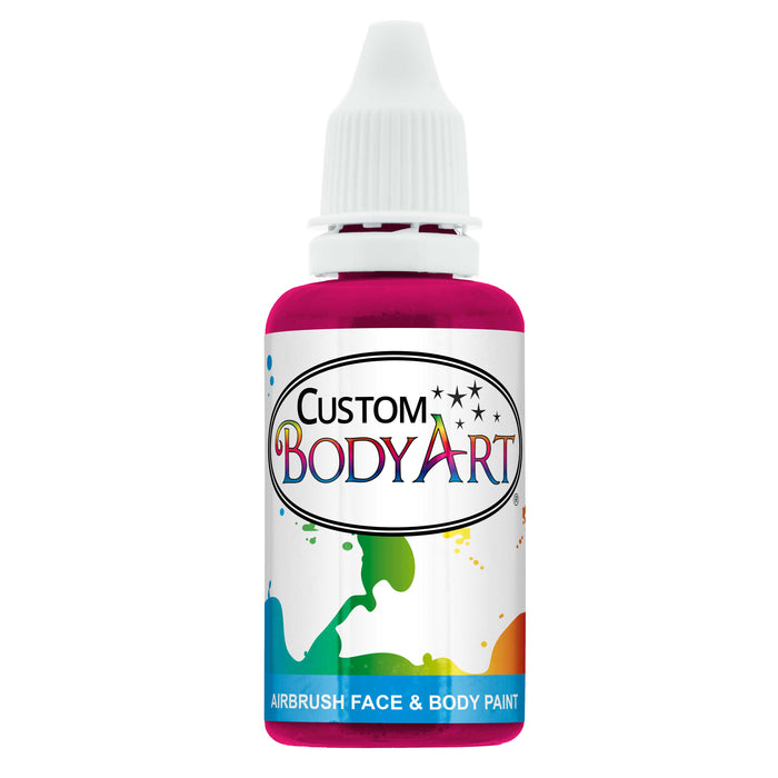 Fuchsia Airbrush Face & Body Water Based Paint for Kids, 1 oz.
