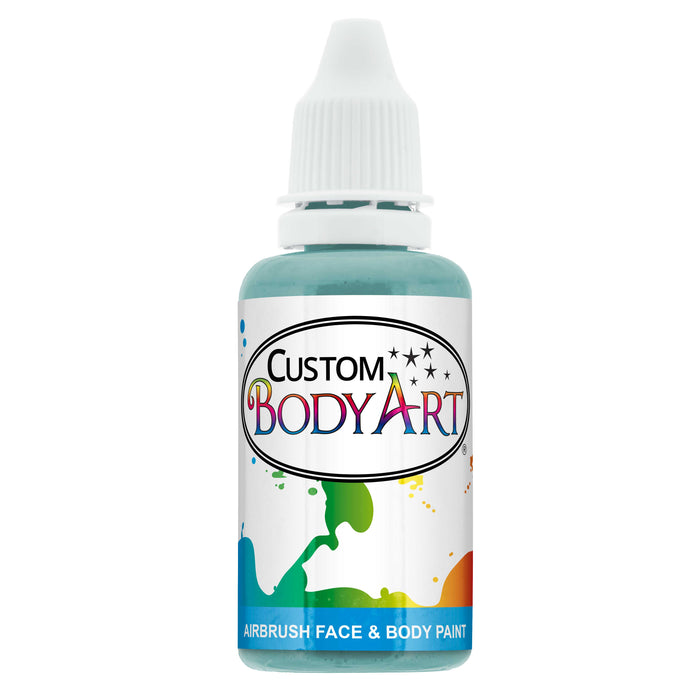 Aqua Blue Airbrush Face & Body Water Based Paint for Kids, 1 oz.