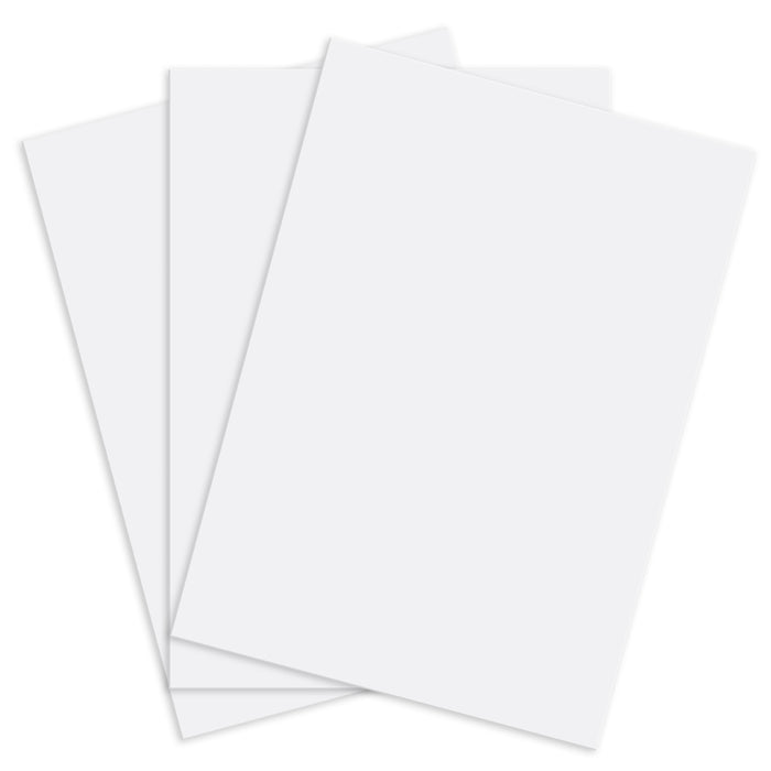 "Custom Shop 8"" x 10"" Airbrush Stencil Blanks (Pack of 3 Sheets) - Make, Cut Your Own Stencil Designs - Thick Reusable Mylar"