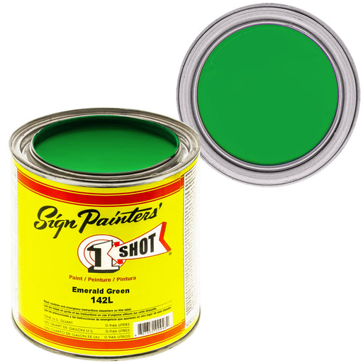 Emerald Green Pinstriping Lettering Enamel Paint, 1 Quart