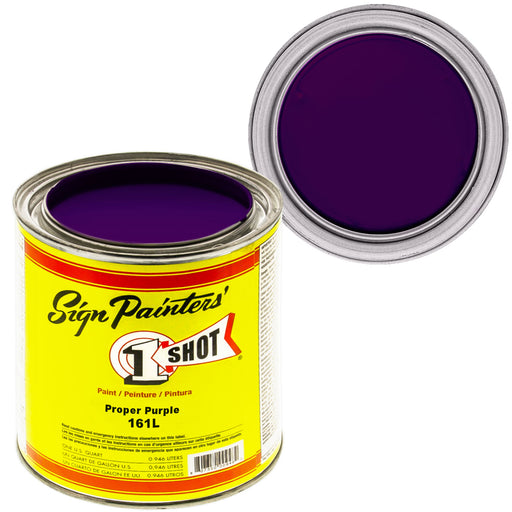 Proper Purple Pinstriping Lettering Enamel Paint, 1 Quart