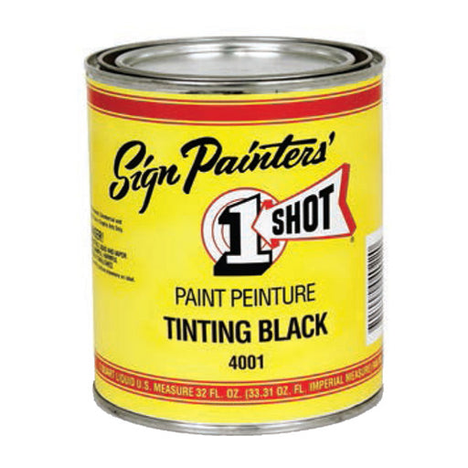 One Shot Paint 4001-PT Shading Black