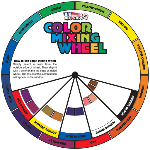 8 in. Color Mixing Wheel