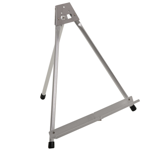 "15"" High Aluminum Tabletop Display Easel with Collapsible Folding Frame - Portable Artist Tripod Stand - Holds Canvas, Paintings, Books, Presentations, Photos, Pictures, Signs, Posters"