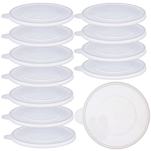 Pouring Masters Box of 12 Mixing Cup Lids Only that Fit Pouring Masters 64 Ounce (2000ml) Graduated Plastic Measuring Cups, Prevent Spills, Auto Paint