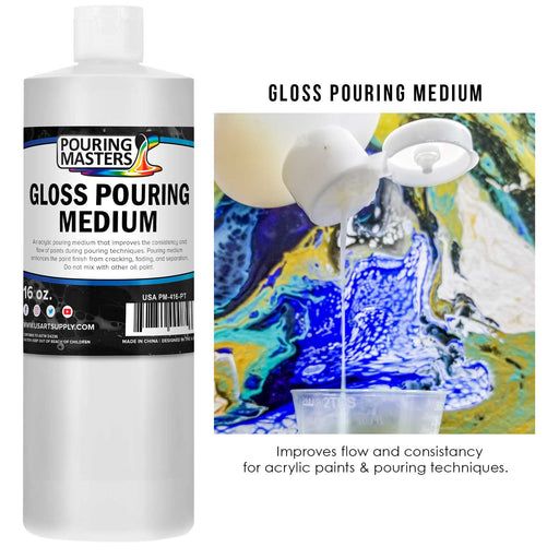 Gloss Pouring Effects Medium - 16-Ounce/Pint