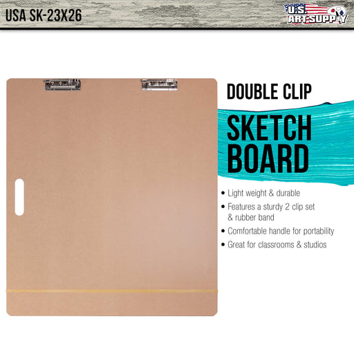 "Artist Sketch Tote Board - Great for Classroom, Studio or Field Use (23""x26"")"