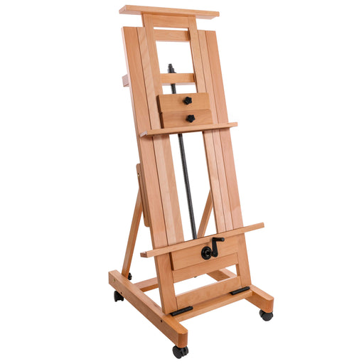 Double Rocker Crank Heavy-Duty Studio Easel