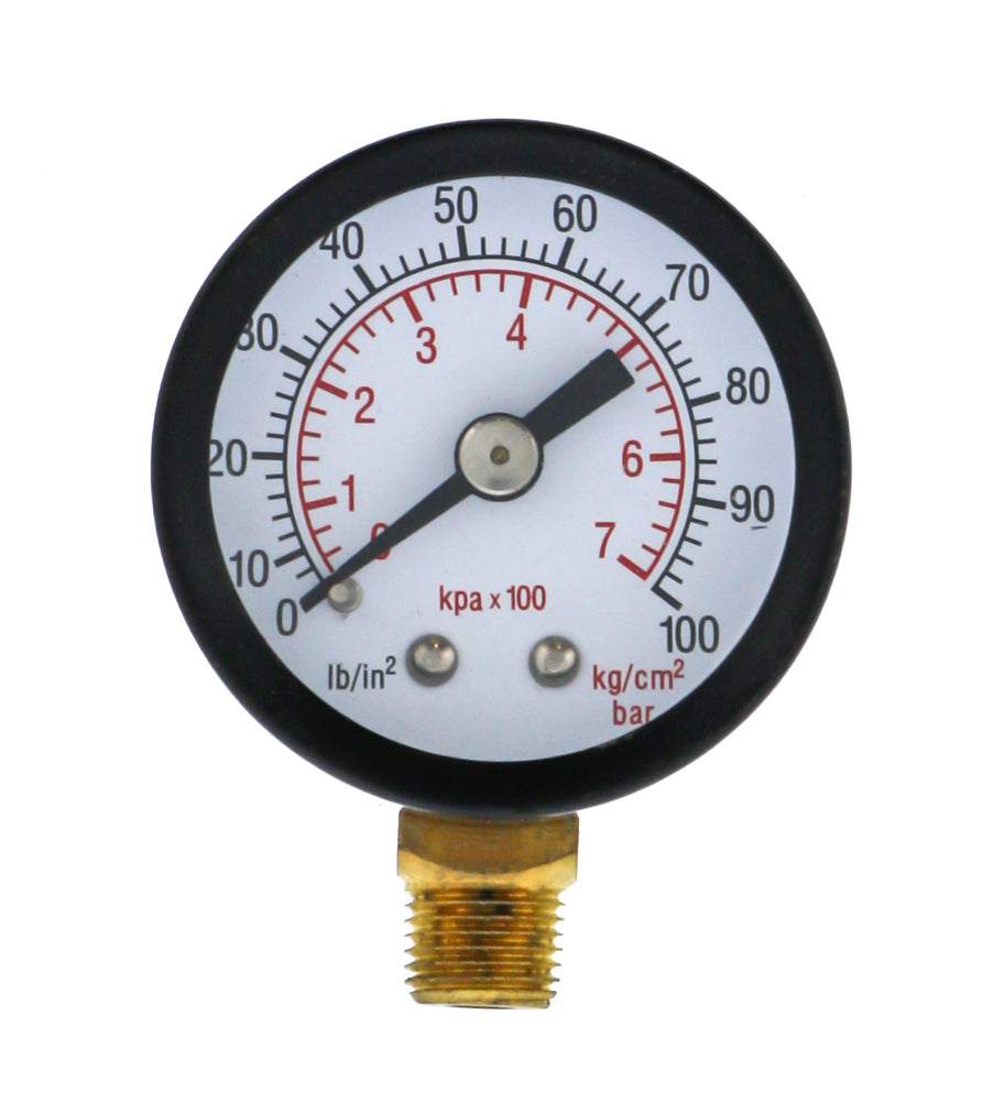 Replacement Air Gauge for Regulator, Water Trap Combo Unit