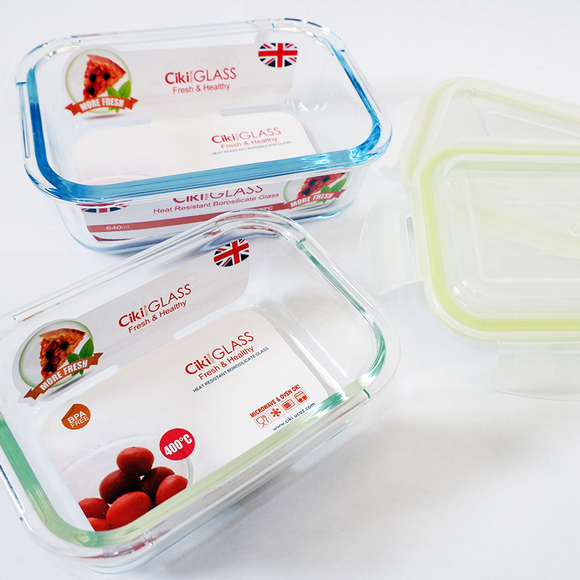 Food Container 640ml (1pcs x 640ml)